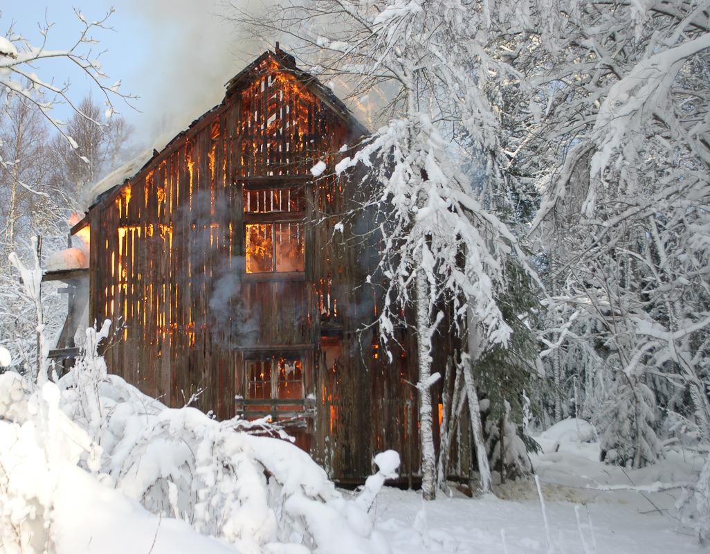06-02-2015 Afbrænding af lade