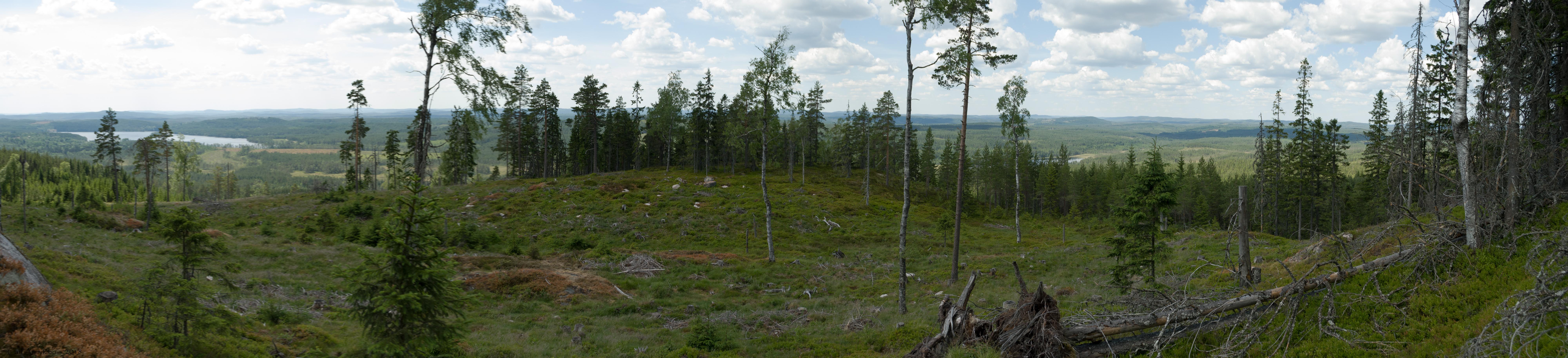 11 - 0609 - Udsigt mod vest - 01 - Bergslagen